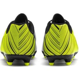 Buty piłkarskie Puma One 5.4 Fg Ag Junior żółto-biało-czarne 105660 03 żółte wielokolorowe 4