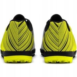 Buty piłkarskie Puma One 5.4 Tt Junior żółto-biało-czarne 105662 03 wielokolorowe żółte 4