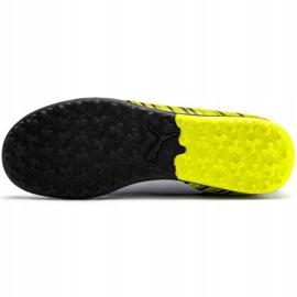 Buty piłkarskie Puma One 5.4 Tt Junior żółto-biało-czarne 105662 03 wielokolorowe żółte 5
