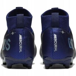 Buty piłkarskie Nike Mercurial Superfly 7 Academy Mds FG/MG Junior BQ5409 401 granatowe granatowe 4