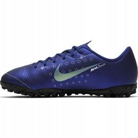 Buty piłkarskie Nike Mercurial Vapor 13 Academy Mds Tf Junior CJ1178 401 granatowe granatowe 2