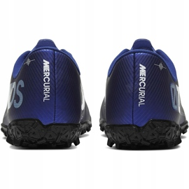 Buty piłkarskie Nike Mercurial Vapor 13 Academy Mds Tf CJ1306 401 granatowe granatowe 4