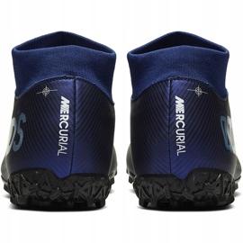 Buty piłkarskie Nike Mercurial Superfly 7 Academy Mds Tf BQ5435 401 granatowe niebieskie 4