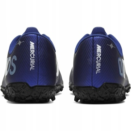 Buty piłkarskie Nike Mercurial Vapor 13 Academy Mds Tf Junior CJ1178 401 granatowe granatowe 4