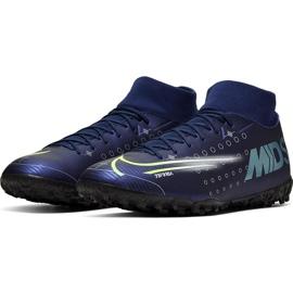 Buty piłkarskie Nike Mercurial Superfly 7 Academy Mds Tf BQ5435 401 granatowe niebieskie 3
