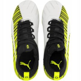 Buty piłkarskie Puma One 5.3 Fg Ag Junior żółto-czarno-białe 105657 03 żółte żółty,biały,czarny 1
