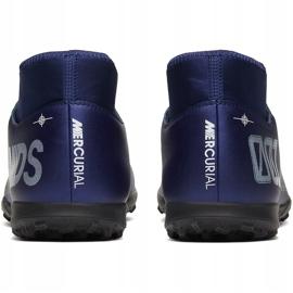 Buty piłkarskie Nike Mercurial Superfly 7 Club Mds Tf BQ5437 401 granatowe granatowe 4