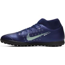 Buty piłkarskie Nike Mercurial Superfly 7 Club Mds Tf BQ5437 401 granatowe granatowe 2