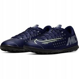 Buty piłkarskie Nike Mercurial Vapor 13 Club Mds Tf Junior CJ1179 401 wielokolorowe granatowe 3