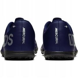 Buty piłkarskie Nike Mercurial Vapor 13 Club Mds Tf Junior CJ1179 401 wielokolorowe granatowe 4