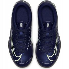 Buty piłkarskie Nike Mercurial Vapor 13 Club Mds Tf Junior CJ1179 401 wielokolorowe granatowe 1