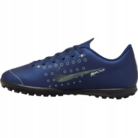 Buty piłkarskie Nike Mercurial Vapor 13 Club Mds Tf Junior CJ1179 401 wielokolorowe granatowe 2