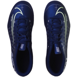 Buty piłkarskie Nike Mercurial Vapor 13 Club Mds FG/MG Junior CJ1148 401 granatowe granatowe 1