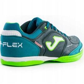 Buty piłkarskie Joma Top Flex 915 zielone Sala 3