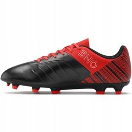 Buty piłkarskie Puma One 5.4 Fg Ag czerwono-czarne 105605 01 czerwone wielokolorowe 2