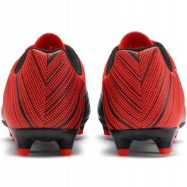 Buty piłkarskie Puma One 5.4 Fg Ag czerwono-czarne 105605 01 czerwone wielokolorowe 4