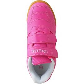 Buty dla dzieci Kappa Kickoff Oc K różowo-białe 260695K 2210 różowe różowe 1