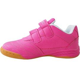 Buty dla dzieci Kappa Kickoff Oc K różowo-białe 260695K 2210 różowe różowe 2