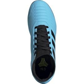 Buty piłkarskie adidas Predator 19.3 Tf Jr niebieskie G25803 1