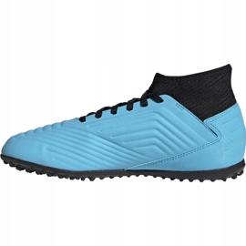 Buty piłkarskie adidas Predator 19.3 Tf Jr niebieskie G25803 2