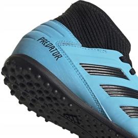 Buty piłkarskie adidas Predator 19.3 Tf Jr niebieskie G25803 4