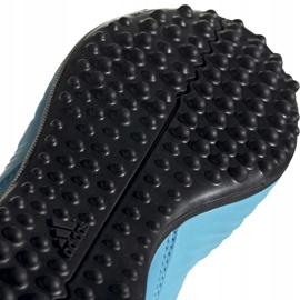 Buty piłkarskie adidas Predator 19.3 Tf Jr niebieskie G25803 5
