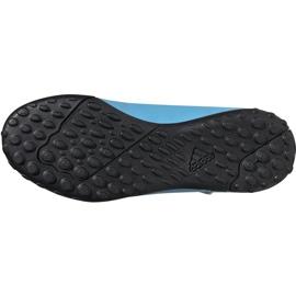 Buty piłkarskie adidas X 19.4 H&L Tf Junior niebieskie EF9126 6