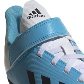 Buty piłkarskie adidas X 19.4 H&L Tf Junior niebieskie EF9126 3