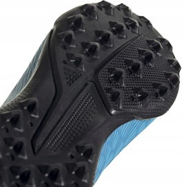 Buty piłkarskie adidas X 19.3 Ll Tf Junior niebieskie EF9123 5