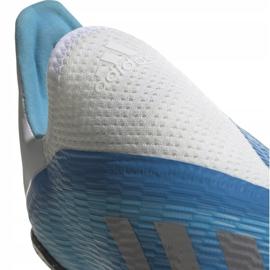 Buty piłkarskie adidas X 19.3 Ll Tf Junior niebieskie EF9123 4