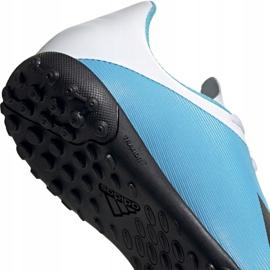 Buty piłkarskie adidas X 19.4 Tf Junior niebiesko białe F35347 wielokolorowe niebieskie 6