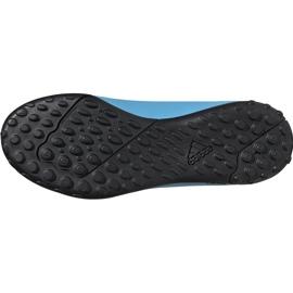 Buty piłkarskie adidas X 19.4 Tf Junior niebiesko białe F35347 wielokolorowe niebieskie 5