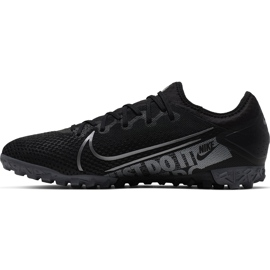 Buty piłkarskie Nike Mercurial Vapor 13 Pro Tf AT8004 001 czarne czarne 2