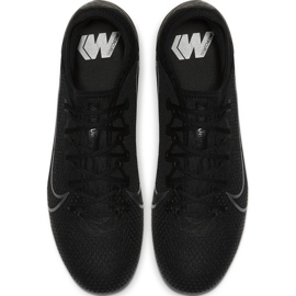 Buty piłkarskie Nike Mercurial Vapor 13 Pro Tf AT8004 001 czarne czarne 1