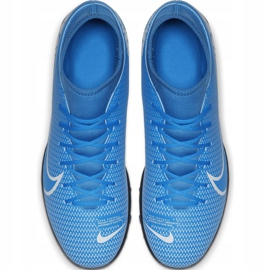 Buty piłkarskie Nike Mercurial Superfly 7 Club Tf AT7980 414 niebieskie wielokolorowe 1