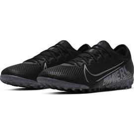 Buty piłkarskie Nike Mercurial Vapor 13 Pro Tf AT8004 001 czarne czarne 3
