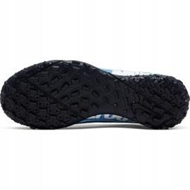 Buty piłkarskie Nike Mercurial Superfly 7 Academy Tf Junior AT8143 414 niebieskie wielokolorowe 6
