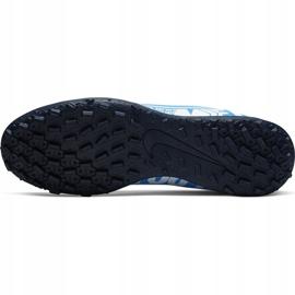 Buty piłkarskie Nike Mercurial Superfly 7 Club Tf Junior AT8156 414 niebieskie 5