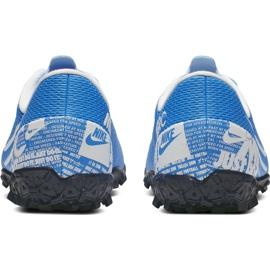 Buty piłkarskie Nike Mercurial Vapor 13 Academy Tf Junior AT8145 414 niebieskie niebieskie 6