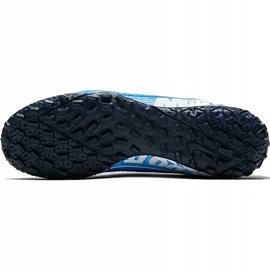 Buty piłkarskie Nike Mercurial Vapor 13 Academy Tf AT7996 414 niebieskie wielokolorowe 5