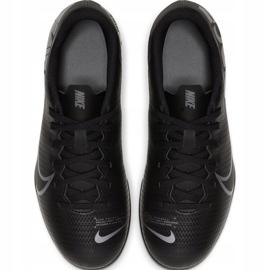 Buty piłkarskie Nike Mercurial Vapor 13 Club FG/MG Junior AT8161 001 czarne czarne 1
