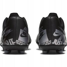 Buty piłkarskie Nike Mercurial Vapor 13 Club FG/MG Junior AT8161 001 czarne czarne 4