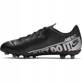 Buty piłkarskie Nike Mercurial Vapor 13 Club FG/MG Junior AT8161 001 czarne czarne 2