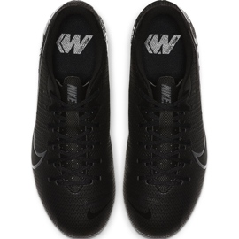 Buty piłkarskie Nike Mercurial Vapor 13 Academy FG/MG Junior AT8123 001 czarne czarne 1