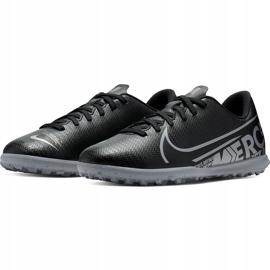 Buty piłkarskie Nike Mercurial Vapor 13 Club Tf Junior AT8177 001 czarne czarne 3