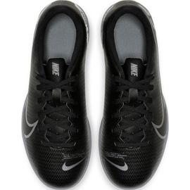 Buty piłkarskie Nike Mercurial Vapor 13 Club Tf Junior AT8177 001 czarne czarne 1