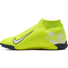 Buty piłkarskie Nike Phantom Vsn Academy Df Tf AO3269 717 żółte żółte 2