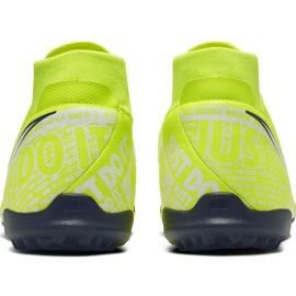Buty piłkarskie Nike Phantom Vsn Academy Df Tf AO3269 717 żółte żółte 4