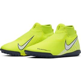 Buty piłkarskie Nike Phantom Vsn Academy Df Tf AO3269 717 żółte żółte 3