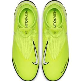 Buty piłkarskie Nike Phantom Vsn Academy Df Tf AO3269 717 żółte żółte 1